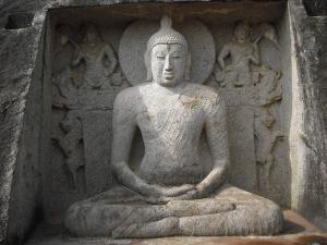 Seated Buddha statue, Thanthirimale